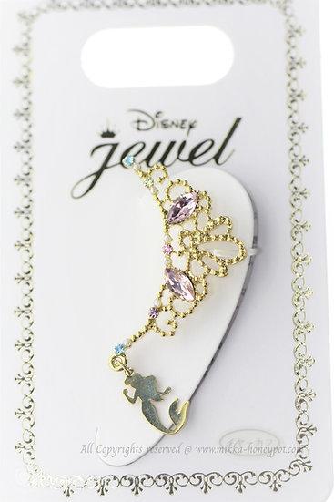 Ear Hook Earring Collection : Little Mermaid Crown Ear Hook Clip