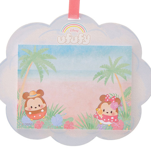 Memo Collection - Mickey & Minnie Ufufy Cloud Memo Pad