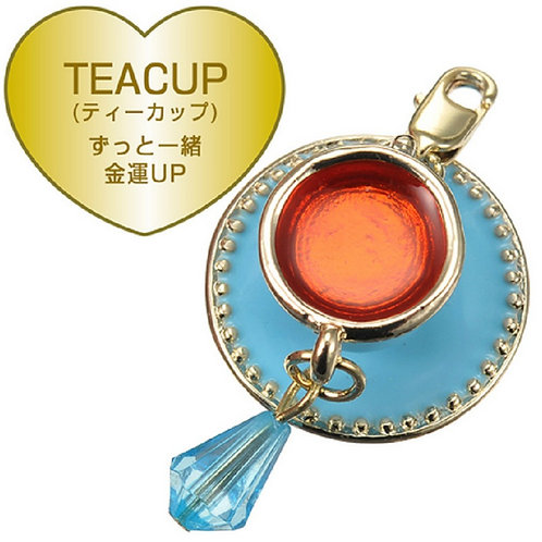 Alice in wonderland - tea cup charm