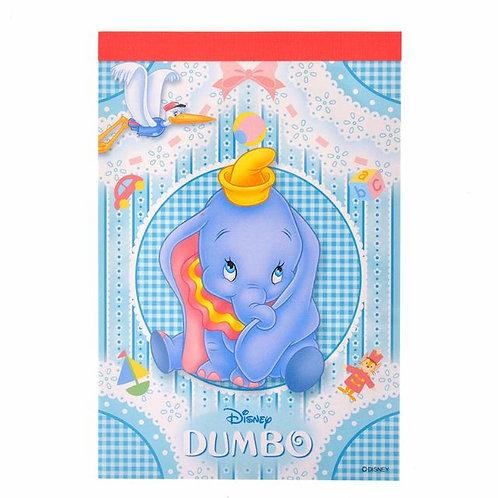 Memo Collection - A6 Memo pad Disney Dumbo Story