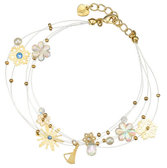 Frozen Elsa Snowflake bracelet