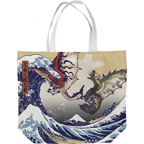 Hobo Bag Collection : RATHALOS & RATHIAN X FUGAKU Monster Hunter Tote Bag