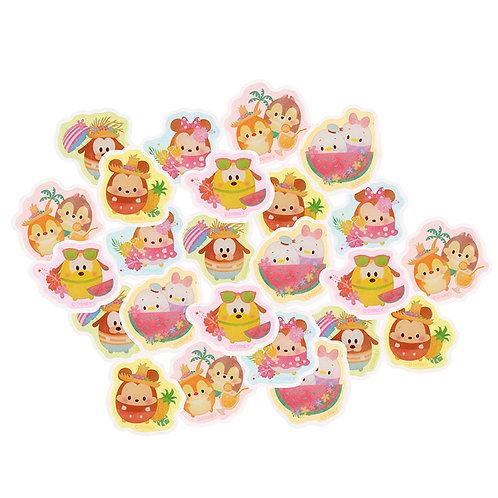 Sticker Collection - Disney ufufy Mickey & Friend Summer sticker Pouch set