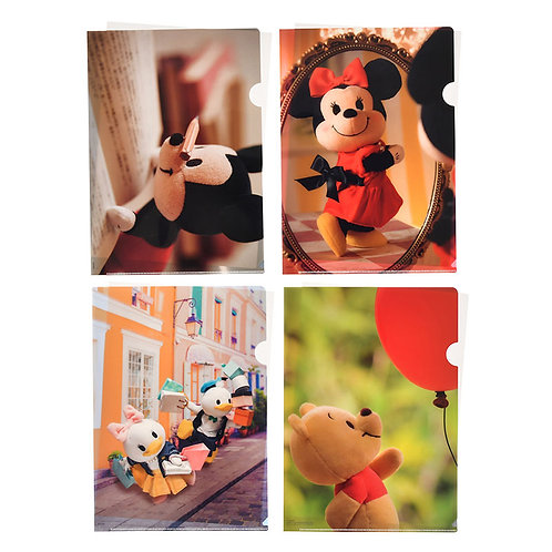 File Set Series: 4 PC Disney nuiMOs Mickey & Friends File Set