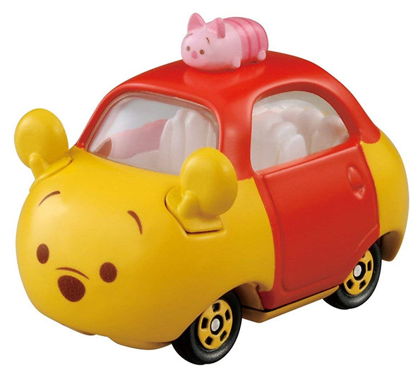 TOY Collection - Winnie The Pooh and Piglet Tsum Tsum Tomica Car