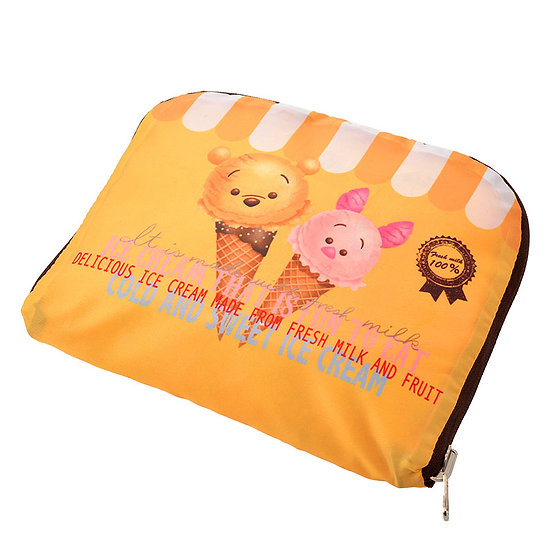 Foldable Duffel Bag Collection : Tsum Tsum ice-cream Winnie the pooh duffel bag