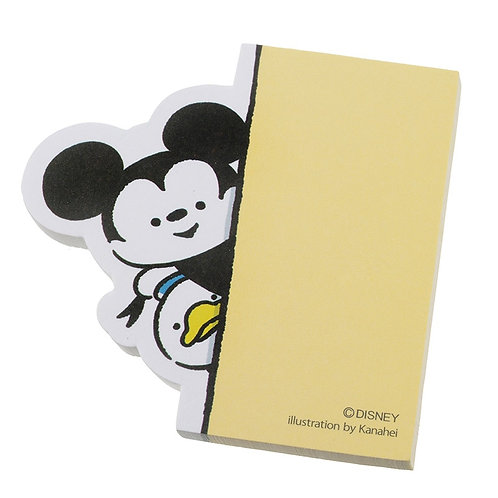 Memo Collection - Mickey & Donald Pop Out Post-It Memo Pad
