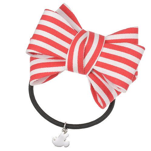 Elastics Decoration Series : Minnie Ribbon hair Bow Bobbles