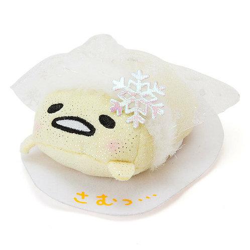 SANRIO TSUM TSUM - Gudetama Christmas Snow Shiny Tsum Tsum