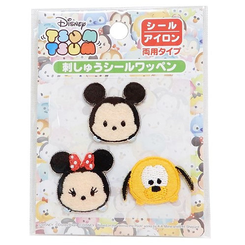 Embroidery DIY Sticker Collection - Tsum Tsum Mickey Family