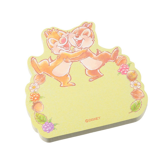 Memo Collection - Chip & Dale Friendship Hug Sticky Memo Pad