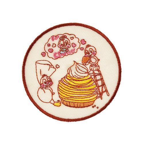 Embroidery DIY Sticker Collection - Chip & dale RAKUGAKI TINY Embroidery Sticker