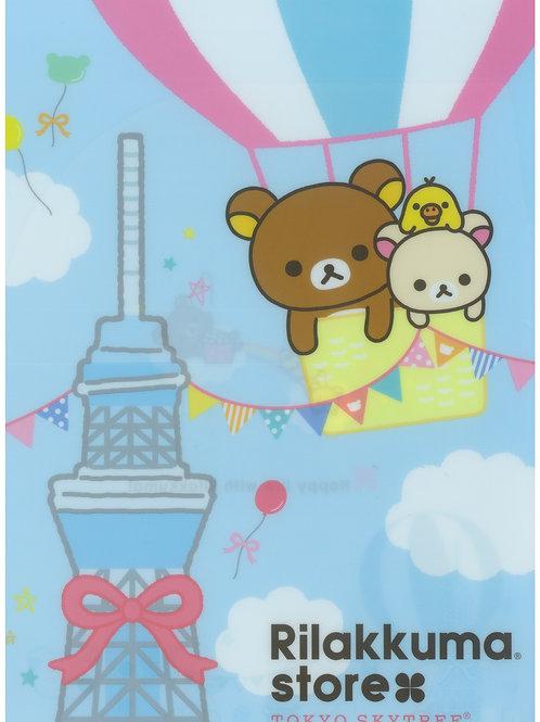 File Sanrio Series: Rilakkuma Tokyo Sky Tree Exclusive 2 Pocket File Design 2