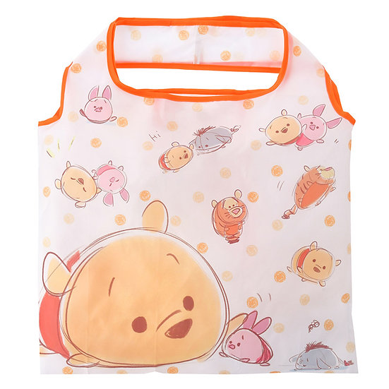 Eco Foldable Tote Bag Collection : Tsum Tsum Sketch Winnie the Pooh & Friends