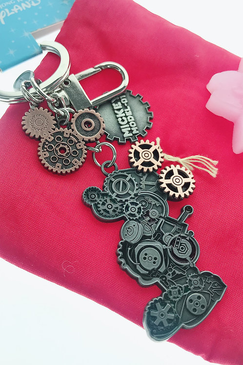 Ring Keychain collection -Mickey Machine Mechanical Key Keychain
