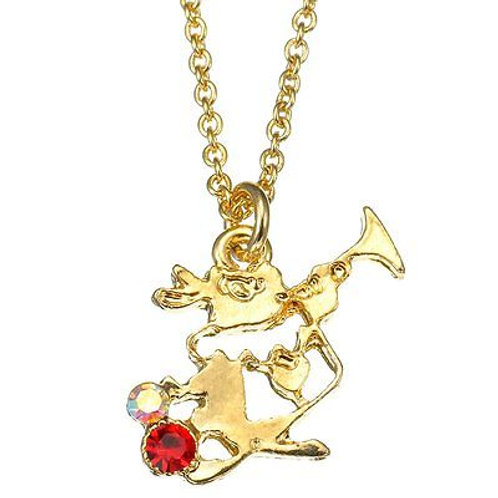 Amulet Pendant Series - Alice in wonderland Rabbit necklace