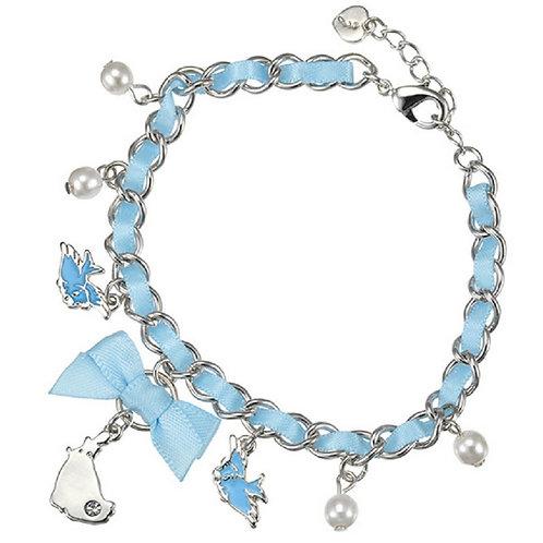 Cindellera and lovely blue bird bracelet