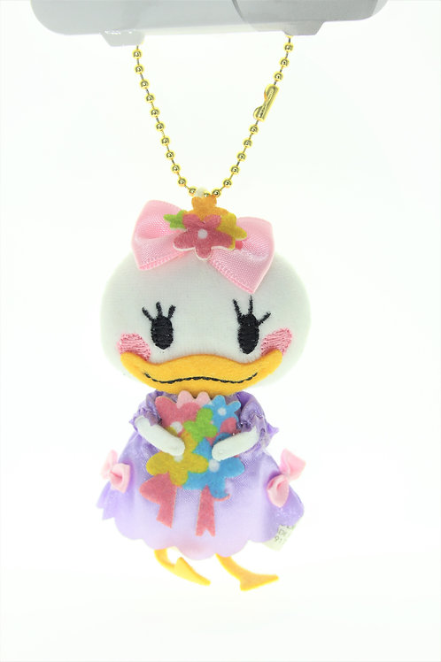 Plushie Keychain Collection - Little Daisy Flower Pastel Color Plushie Keychain