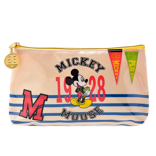 Make-up Pouch Collection :  Mickey University School Life Make Up pouch