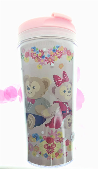 Water Flask Collection - Hong Kong Disneyland Duffy & Shellie May Water Bottle
