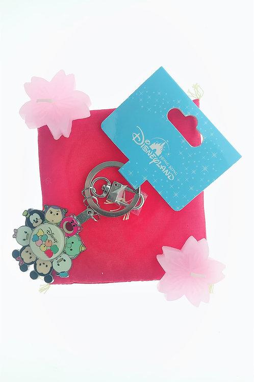Ring Keychain collection -Tsum Tsum Fun Spinning Wheel  Key Keychain