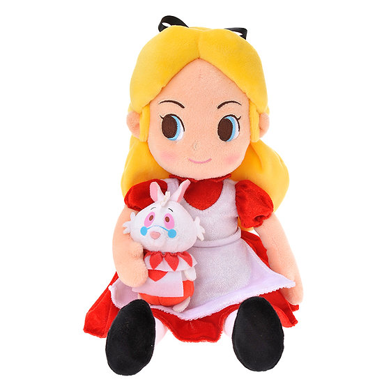 Plushie Series : Alice in Wonderland Red and Black