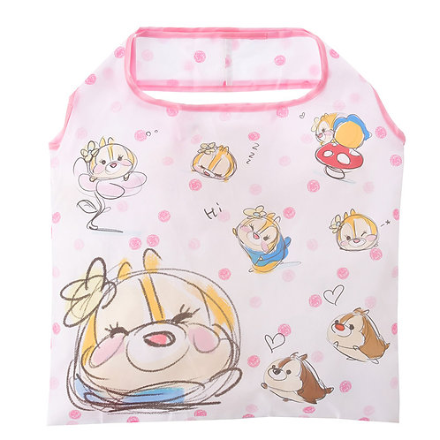 Eco Foldable Tote Bag Collection : Tsum Tsum Sketch Chip ,Dale & Clarice