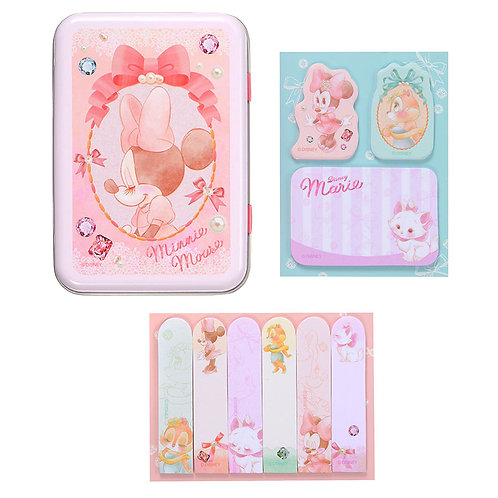 Memo Collection - Minnie, Clarice & Marie Cat Tin Memo Set
