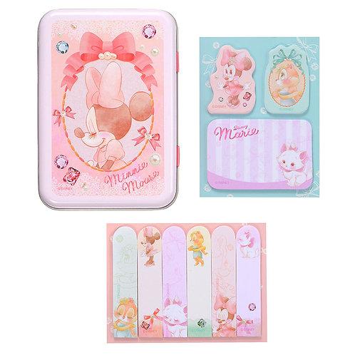 Memo Collection - Minnie, Clarice & Marie Cat Tin Memo Set