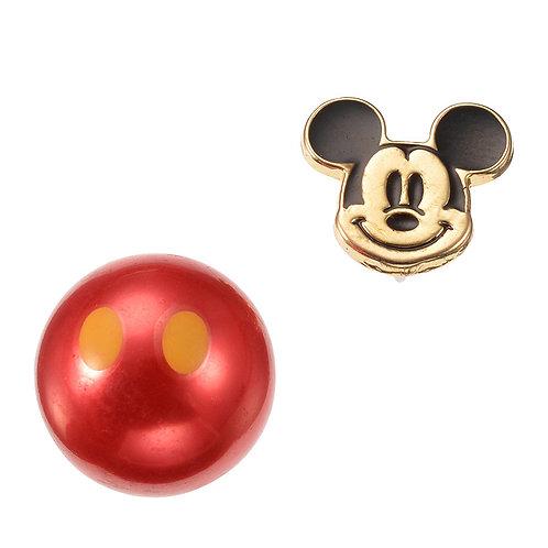 Single Earring series -  Reversible Mickey
