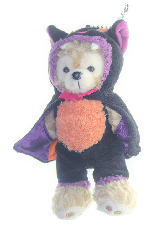 Duffy & Friend Collection - Duffy Halloween Cat Coat Plushie Keychain