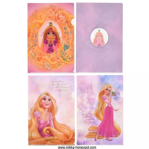 File Collection - Rapunzel & Pascal Clear File Anniversary ( 4 pc set )