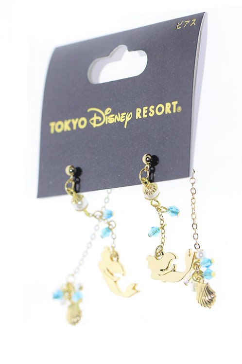 Earring Set Collection : Tokyo Disneyland little Mermaid 2 way Earring