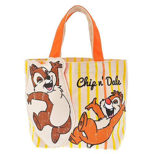 Hand Bag Collection - Chip and Dale Cheerful Fun Lunchbox Bag