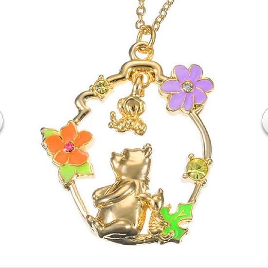 Winnie the Pooh and piglet dream necklace