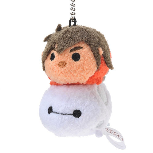 Plushie Keychain Collection - Baymax & Hero normal mode Tsum Tsum Stack Stack