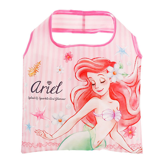 Eco Foldable Tote Bag Collection : The Little Mermaid Ariel diamond Tote Bag