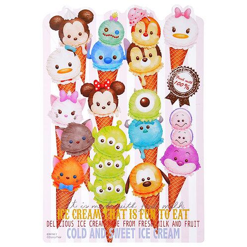 File Collection - Tsum Tsum summer ice-cream underlay