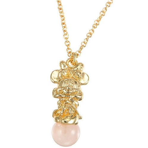 Minnie Natural Stone Necklace -Love & friends