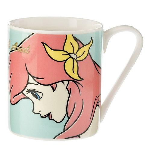 Mug Series : Friendship , Little Mermaid Ariel and Flounder
