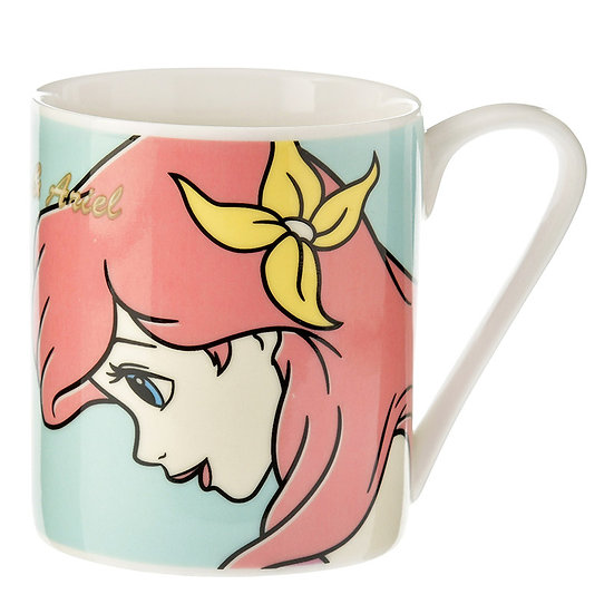 Mug Series : Friendship , Little Mermaid Ariel and Flounder