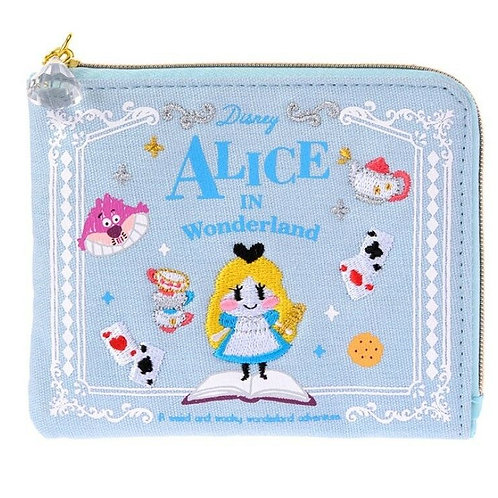 Coin & Card Pouch Collection : Graffiti Alice in Wonderland Coin & Card Purse
