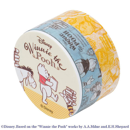 Washi tape Collection- Winnie The Pooh Roller Washi Tape Set
