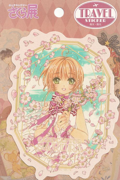 Decoration Sticker Collection -  Card Sakura Flower 1 Decor Sticker