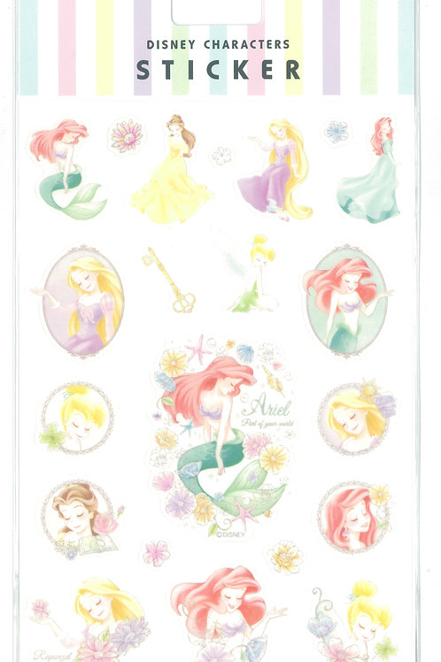 Disney Characters Sticker Collection - Disney Princess flower of dream sticker