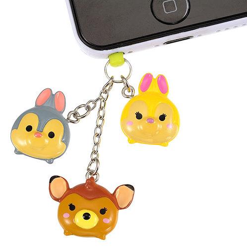 DUST PLUG - Bambi, Miss Bunny, Thumper Tsum Tsum Candy Dust Plug