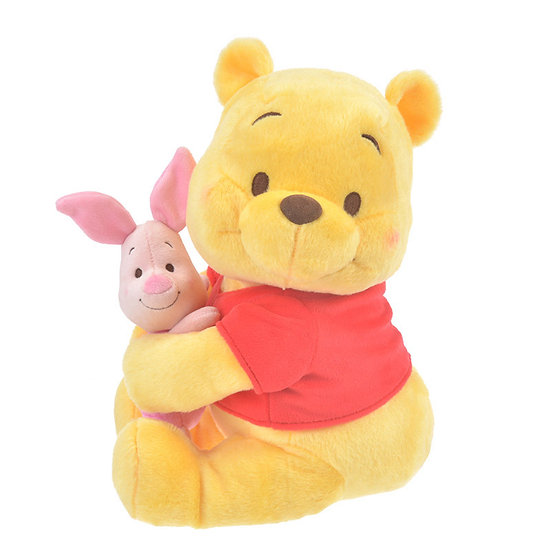 Plushie Series:  Winnie The Pooh & Piglet Lovely Hugging Plushie