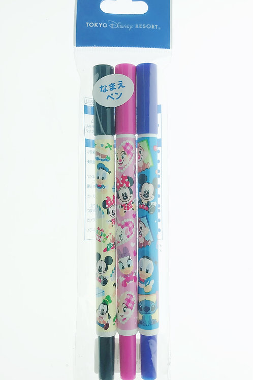 Marker Pen Series : Disneyland Mickey & friends Permanent Marker Pen Set