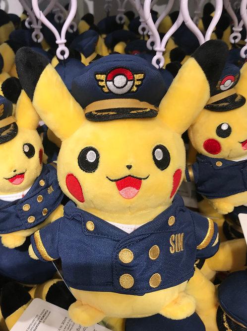 Pokemon [PO]- - Singapore Exclusive Jewel Changi Airport Pikachu - Pilot M size