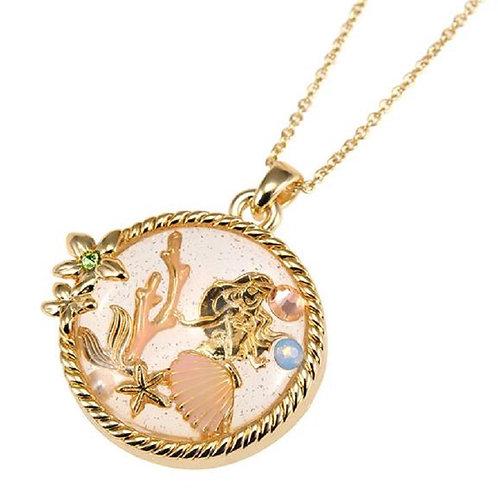 Snowglobe Little Mermaid Ariel Necklace